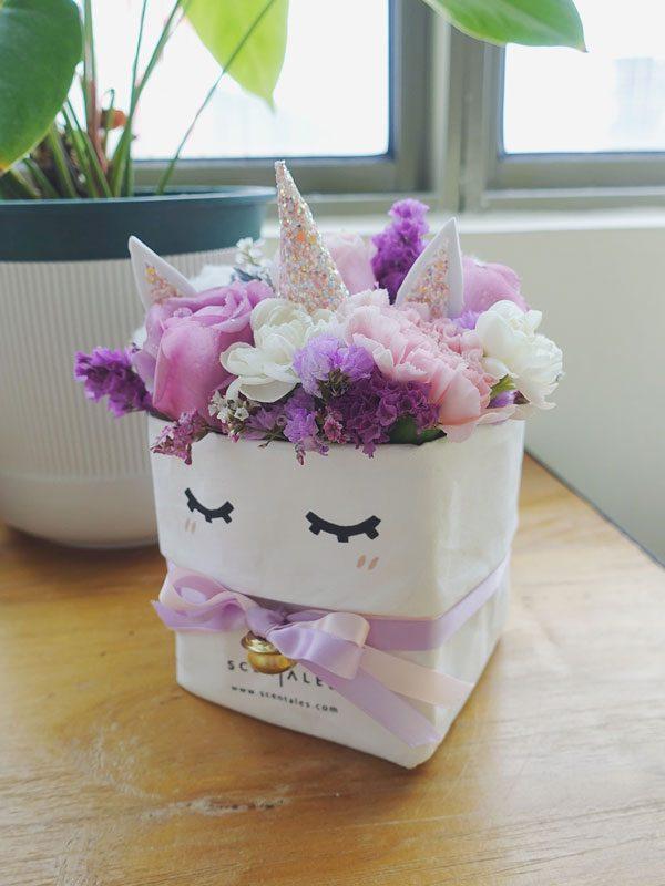 bibi-the-unicorn-kraft-bag-flower