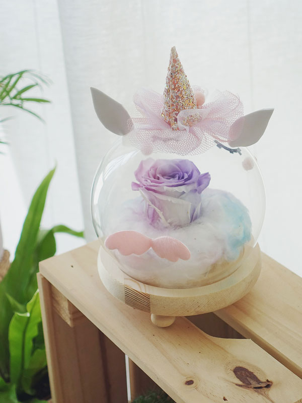 bubu-the-unicorn-preserved-rose-glass-globe