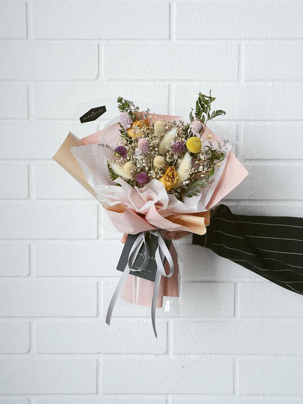 Fleurine Dried Flower Bouquet Scentales Florist