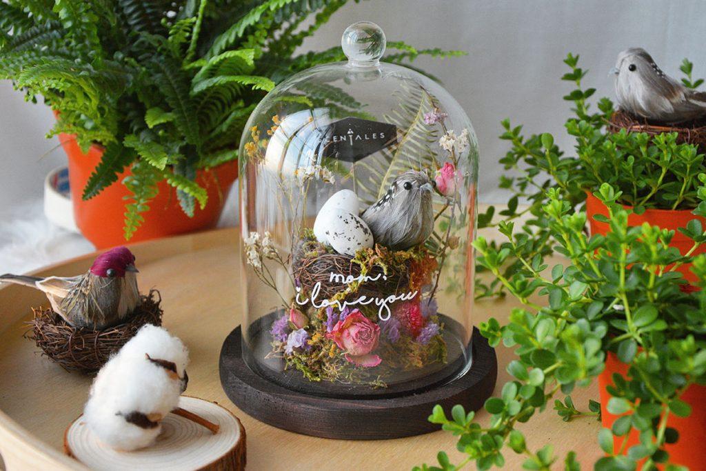 blog-bird-song-dried-flower-bell-jar