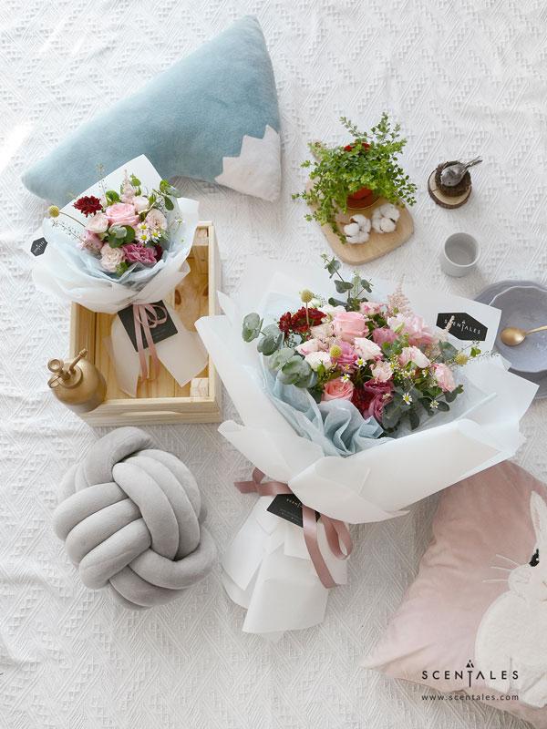 summertime flower bouquet