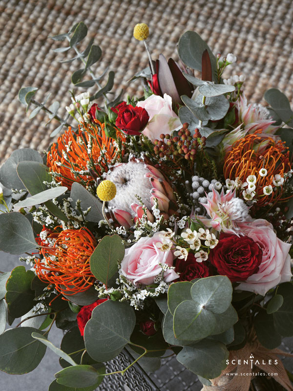 safari-sunset-bridal-flower-bouquet